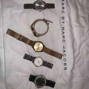 Michael Kors and Marc Jacob watches